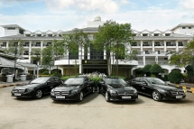 INTERCONTINENTAL HANOI WESTLAKE HAS INDUCTED 4 NEW W 250E MERCEDES CARS.